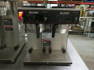 Bunn 23400 0047 Cwtf Twin tc Automatic Thermal Carafe Coffee Brewer 120 240v