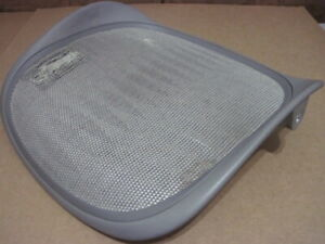 Herman Miller Aeron Chair Grey Smoke Color Seat Pan Needs Mesh Size A 199