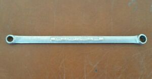 Craftsman Tools Usa 7mm X 9mm Metric 12 Point Double Box End Wrench Vv 42953
