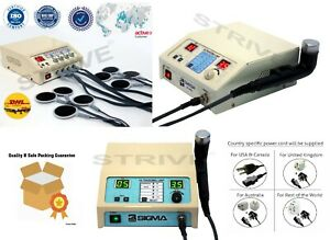 Ultrasound Therapy Unit 1mhz 3mhz 4channel Electrotherapy Machine Ce Certify