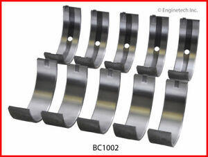 Engine Crankshaft Main Bearing Set Enginetech Inc Bc1002std