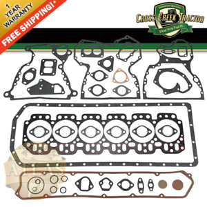Re38858 New Overhaul Gasket Set For John Deere 3420 540 544 2840 6800