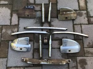 1941 Chevy Front And Rear Bumper Guard And Wrap Set