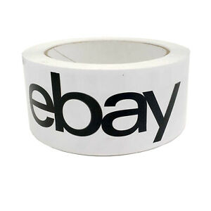 Packaging Tape Black And White Logo
