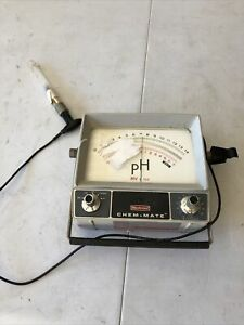 Beckman Chem mate Ph Meter Portable With Probe Stand 72002