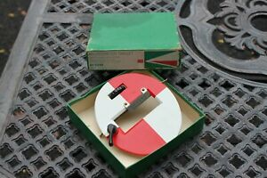 K e Keuffel Esser 81 0239 Micrometer Survey Target Philadelphia Rods 1966 Box