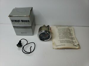 Nos Vintage Stewart Warner Hydraulic Oil Temperature Gauge 82708 Z7
