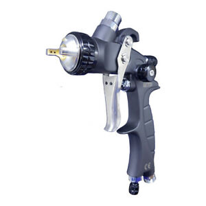 Wtp Mini Pro 1 2 Hvlp Profesional Spray Gun Clear color And Small Surfaces