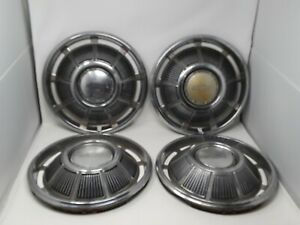 Stock Set 1969 Chevrolet Chevy Impala Biscayne Belair 14 Wheelcovers Hubcaps 1
