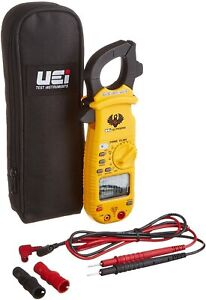 Digital Clamp On Meter Uei Test Instruments Ac Dc Amp Auto Ranging Diode Tester