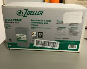 Zoeller Well Pump Control Box For 3 wire Submersible Well Pumps 1010 2337