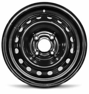 Set Of 4 New Steel Wheel Rims 15 Inch For 2009 2014 Nissan Cube 4 Lug 114 3mm