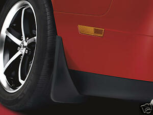 Dodge Challenger 2009 2014 Rear Molded Splash Guards Mud Flaps Mopar