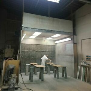 Devilbiss Open Paint Booth