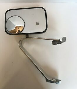 Vintage Pickup Truck Driver s Side Mirror Ford F250 F350 Rat Rod Chrome