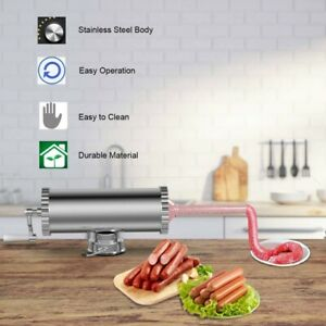 Commercial Manual Sausage Stuffer Maker Meat Filler Machine 3l W Suction Base