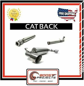 Perrin Cat back Exhaust 2 5 Resonated For Fr s Brz Toyota 86 Psp ext 365br