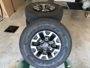2020 Toyota Tacoma Trd Off road 16 Wheels tires