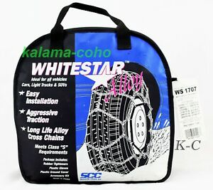 Whitestar Alloy Tire Snow Chains Ws 1707