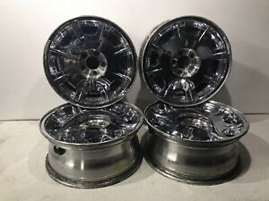 2005 2006 Chrysler 300 17 Inch 8 Spoke Chrome Alloy Wheel Rim Set Of 4 Oem 17x7