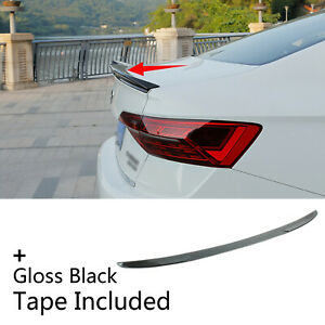 Fit For 2019 2021 Vw Jetta Sedan Rear Tailgate Trunk Lip Spoiler Wing Blade Type