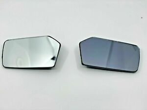 Mercedes W107 W114 W115 W116 W123 Exterior Mirror Glass Left And Right Side Pair