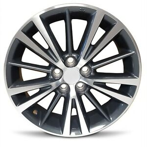 Set Of 4 16 Inch Aluminum Alloy Wheel Rims For 2014 2019 Toyota Corolla 5 Lug
