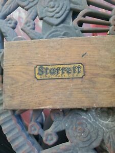 L s Starrett Co No 440 A 400 Athol Mass Depth Gauge With Case Not Complete