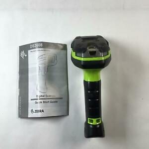 Zebra Ds3608 Ultra rugged Handheld Digital Barcode Scanner imager Without Cable