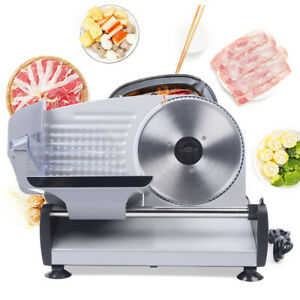 0 15mm Commercial Stainless Steel Food Slicer 200w Meat Slicer Cheese Electric