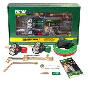 Victor 0384 2113 Journeyman Ii Af Edge 2 0 Propylene Cutting Torch Outfit
