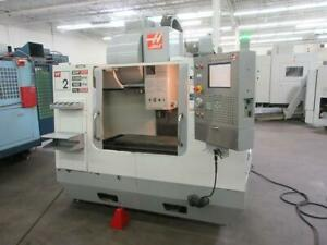 Used Haas Vf 2 Cnc Vertical Machining Center Mill 15 000 Rpm Tsc Usb 24 Tools 06