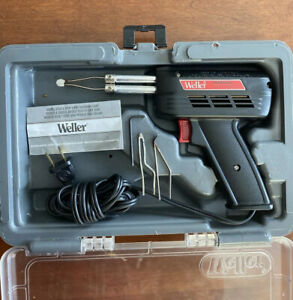 Weller 8200pk Soldering Gun With Light Complete Case 120v 140w Duty Cycle