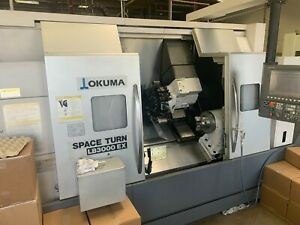 Okuma Lb3000 Ex Myw 800 Space Turn Live Tooling Only 2000 Hours