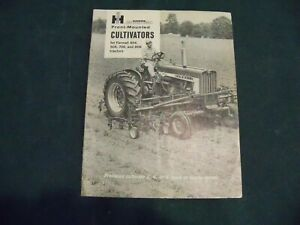 Mccormick International Front mounted Cultivators Sales Brochure For Farmall 404