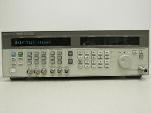 Hp Agilent Keysight 83731a Synthesized Signal Generator 8 To 20ghz