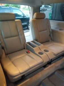 Chevy Suburban 3rd Row Captain Seats 2007 2014 Gray In Great Condition
