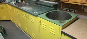 Nevin Laboratory Casting Well Bench Unit Ss