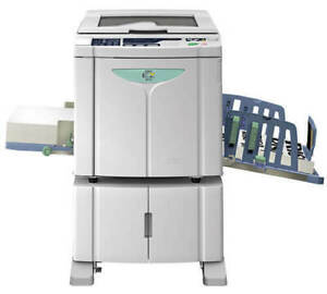 Riso Ez 391u High Speed Digital Duplicator With Network usb Only 45k 810masters