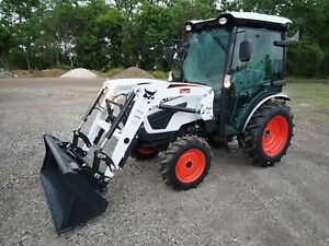 New 2020 Bobcat Ct2535 Compact Tractor Cab Heat ac 4x4 Hydro Loader 540 Pto