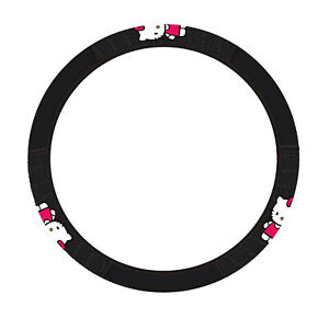 New Hello Kitty Core Steering Wheel Cover Universal Fit 14 5 15 5 Car Suv