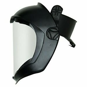 Uvex Bionic Face Shield With Hard Had Adapter And Clear Polycarbonate Anti fog h
