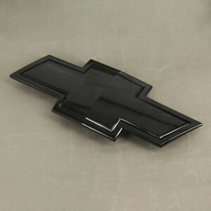 Fit For Chevrolet Silverado 1500 Black Bow Tie Front Grille Emblem Oem