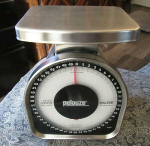 Pelouze Y50 Heavy duty Mechanical Package Postal Shipping Scale 50 Pound Weight