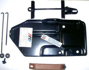 1972 B Body Amd Battery Tray Kit Hold Down Correct Charger Road Runner Mopar