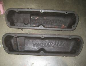 Used 1969 Mustang Power By Ford Valve Covers 289 302 351w