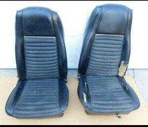 1969 1970 Ford Mustang Mach 1 Boss 302 429 Shelby High Back Bucket Seats