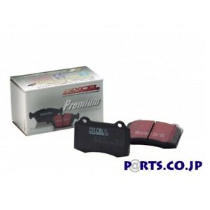 Dixcel Brake Pads Premium Type Front For Peugeot 406 2 9 V6 Coupe D9cpv