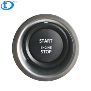 For 2010 2012 Range Rover L322 Engine Start Stop Switch Keyless Ignition Button