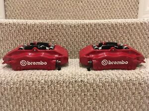 Brembo Porsche 996 987 986 911 Carrera Or Boxster S Front Brake Calipers Bbk Bmw